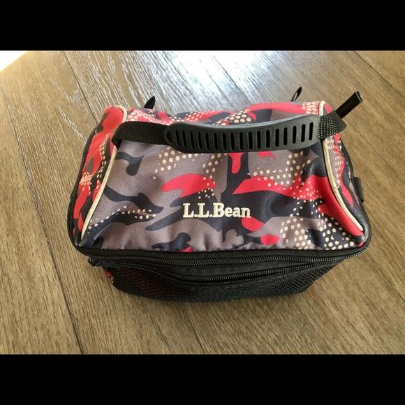 L.L. Bean Flip Top Lunch Box Camo Print